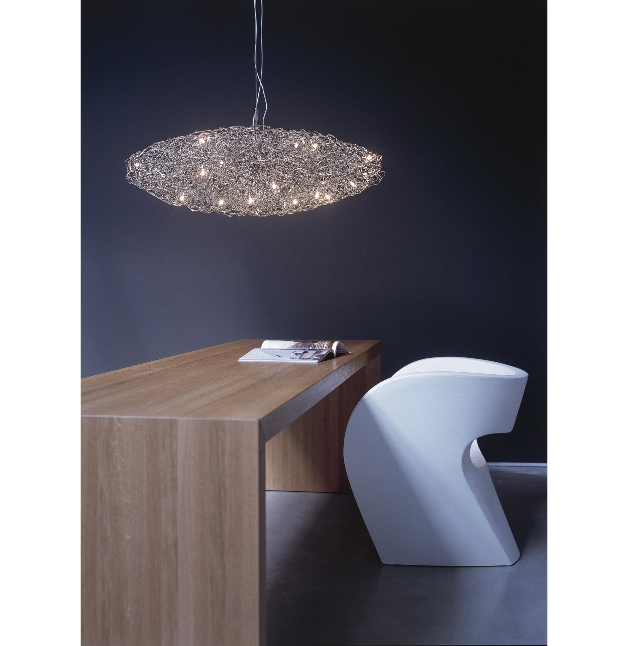 brand van egmond hanglamp crystal waters ufo versteeg lichtstudio. Black Bedroom Furniture Sets. Home Design Ideas