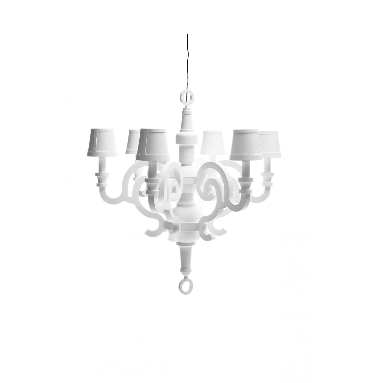 Moooi kroonluchter paper chandelier versteeg lichtstudio for Kroonluchter kapjes