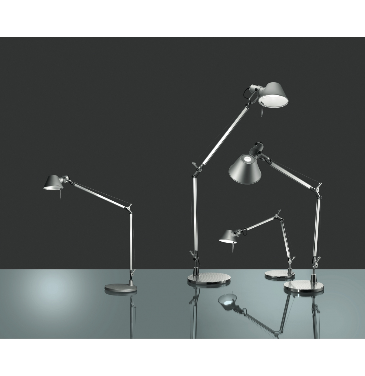 artemide tafellamp tolomeo mini led versteeg lichtstudio. Black Bedroom Furniture Sets. Home Design Ideas