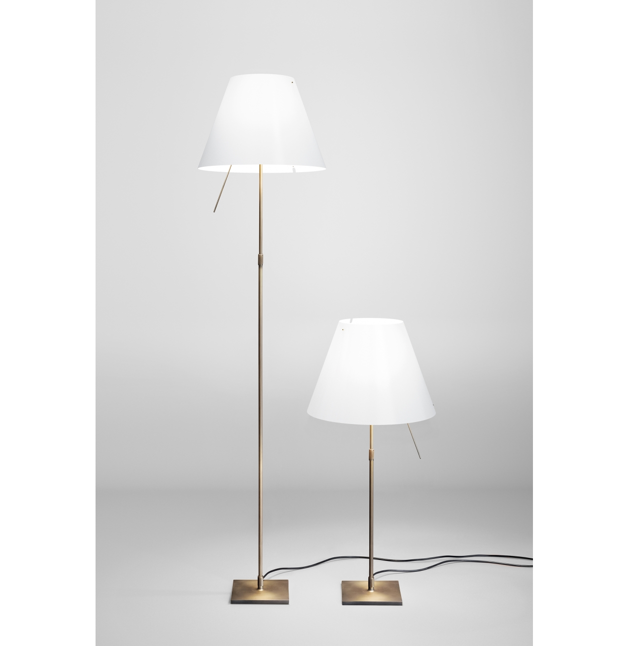 Vloerlamp Costanza Brons - Limited Edition -