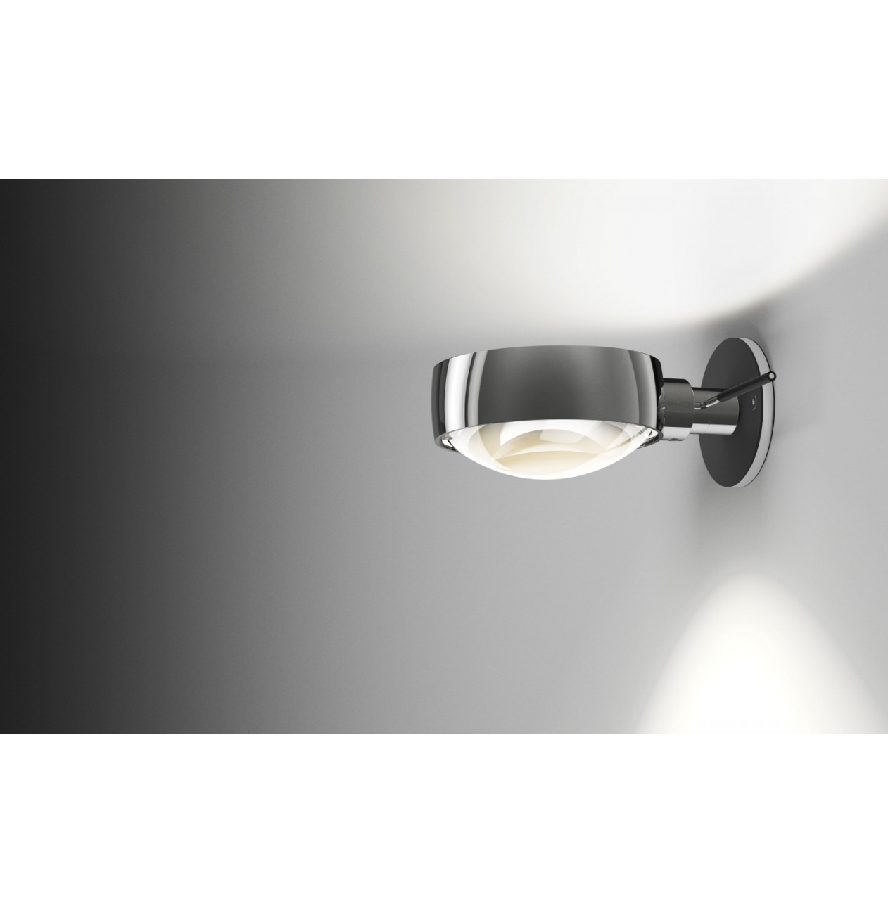 occhio wandlamp verticale sento e met extra mat glas. Black Bedroom Furniture Sets. Home Design Ideas